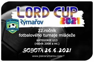 Tradiční turnaj LORD CUP bude!